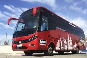 Microbús de 35 personas con posibilidad de 7 pmr